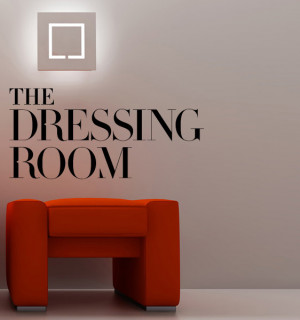 Dressing room for quotes quotesgram for Small room quotes