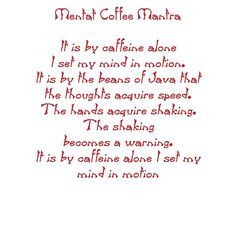 The Caffinated Mentat
