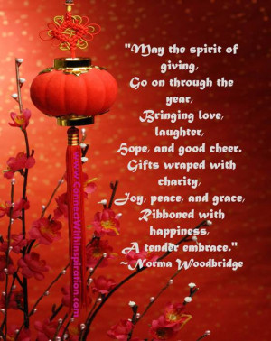 May the spirit of giving, Go on through the year,