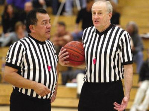 ... Referees is to show their support for breast cancer awareness