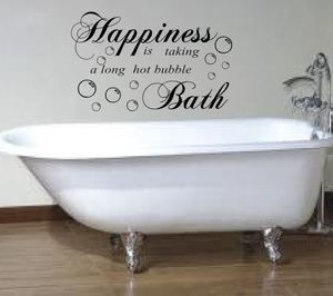 ... hot bath bathroom wall sticker art mural quote rc 43 ebay wallpaper