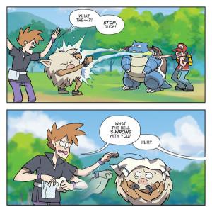 LOL red gaming pokemon wtf comics gary oak Dorkly blastoise