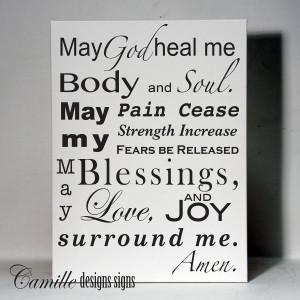 Healing Prayers Quotes