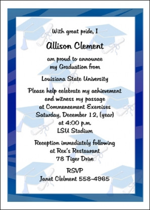 Graduation Invitations - School Graduate Invites - Invitaiton ...