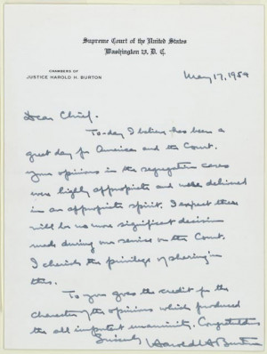 ... . Earl Warren Papers, Manuscript Division , Library of Congress (82
