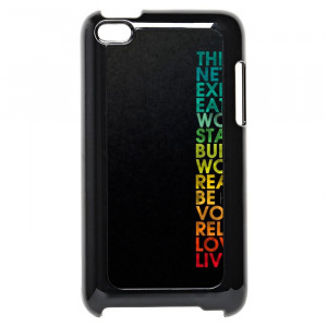 Multiple Positive Words Motivational Quotes iPod Touch 4 Case