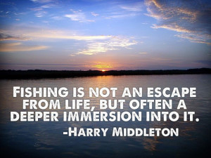 Fly fishing quote