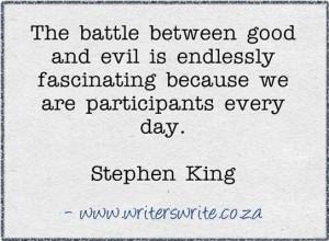 Writing, Stephen King.