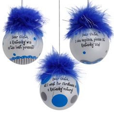 Kentucky Wildcats Three-Pack Team Sayings Ornaments More