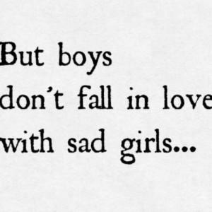 sad boy girl conversation quotes