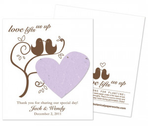 seed wedding favors you can hand out at your wedding