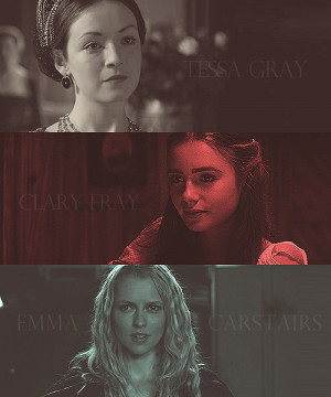 ... quotes:Sarah Bolger as Tessa Gray of the Infernal DevicesLily Collins