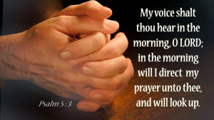 Prayer Quotes From Bible My prayer unto thee,