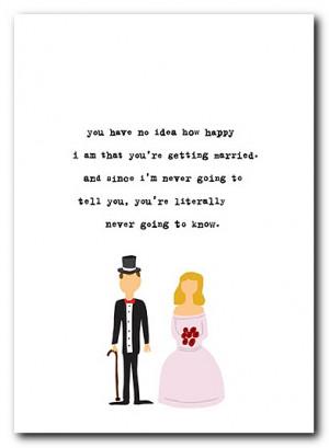 funny wedding quotes. Funny Congratulations Quotes