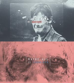 The Walking Dead ★ Daryl & Merle 3x15 ☆