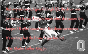 MLK Drum Major Instinct quote