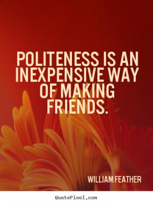 Politeness Quotes