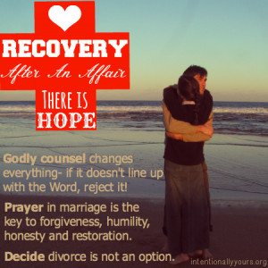 Recovery After An Affair: There is Hope