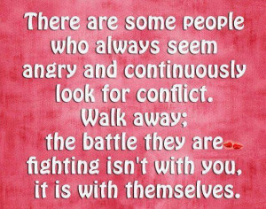 Some people are always angry picture quotes image sayings