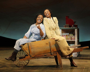 THE COLOR PURPLE / First National Tour: Kenita R. Miller (Celie) and ...
