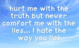 i hate people who lie quotes - photo #39