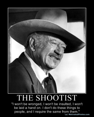 One more John Wayne….