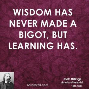 Josh Billings Wisdom Quotes