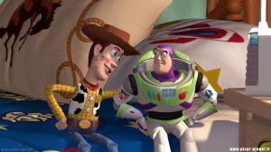 Buzz Lightyear and Woody Toys