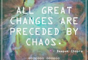 Things do not change; we change. Henry David Thoreau