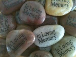 ... Lovng Memory, funeral favor for Memorial Service, or Life Celebration