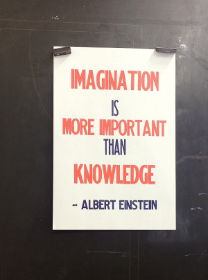 important thanimagination is einstein more important thanimagination ...