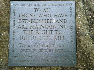 Conscientious objectors also fought