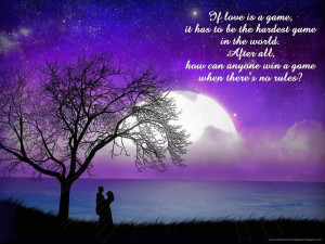 Moon Love Quotes Night moon couple love quotes