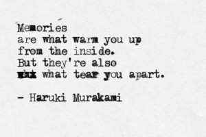 Kafka on the Shore by Haruki Murakami... love murakami