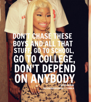 ... image include: barbie, nicki, nicki minaj, minaj and celebs quotes