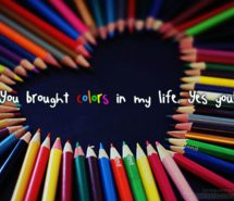 colorful, colors, cute, heart, life, love, love quotes, love sayings ...