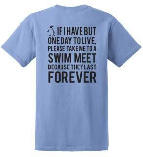Swim team quotes for t shirts quotesgram for Wearing t shirt in swimming pool
