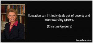 Education can lift individuals out of poverty and into rewarding ...