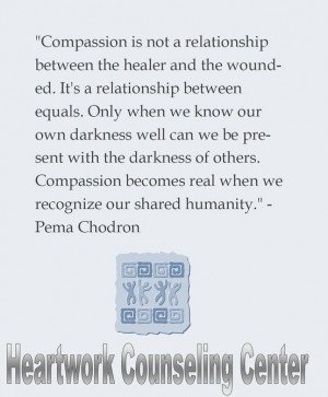 Inspirational quote by Pema Chodron