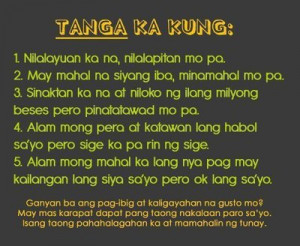 Sad Love Quotes Tagalog Text Messages #12