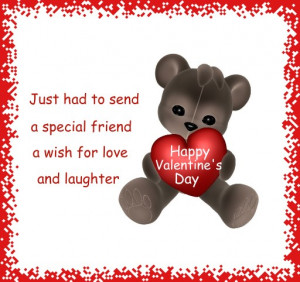Wish for Love and Laughter on Valentine's Day!