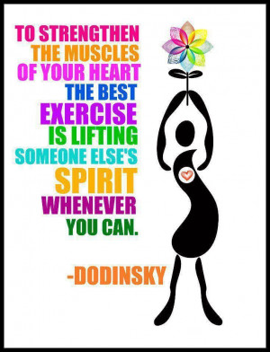 to strengthen the muscles of your heart the best exercise is lifting ...