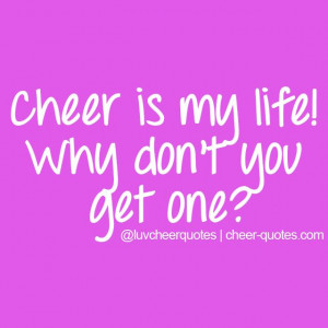Cheer is my life! Why don't you get one? #cheer #love #cheerleader # ...