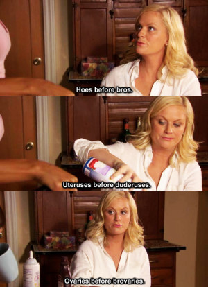 ... Galentine's Day! Celebrate with some of Leslie Knope's best quotes
