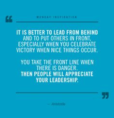 Great quote on leadership and management shared via @Doug Conant ...