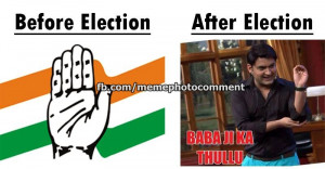 Before Election After Election Kapil Sharma Funny Facebook Picture ...