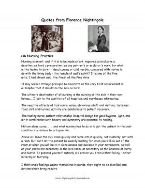 Nightingale Quotes Nursing http://www.docstoc.com/docs/93073663/Quotes ...