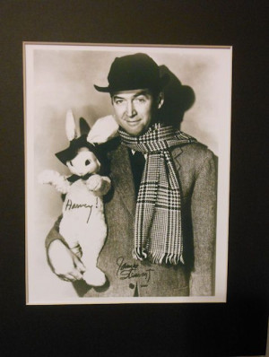 james stewart quotes | james stewart signed harvey photo matted jimmy ...