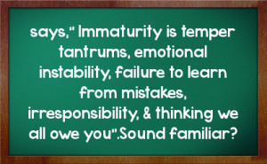 Quotes About Immaturity And Pettiness http://fstatuses.com/insults ...