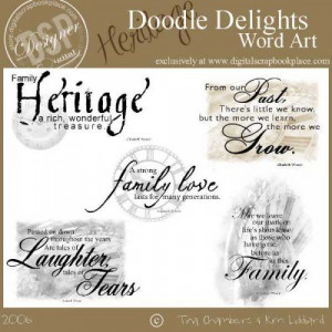 Ancestry Quotes for Scrapbooking   ... Scrapbook Place, Inc. , High ...